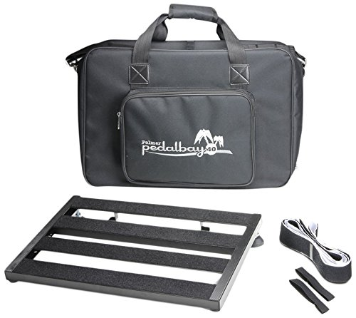 Palmer MI PEDALBAY 40-Variables - Pedal Board with Padded Carry Case 45 cm