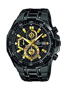 Casio 0 - Reloj de cuarzo para hombre, con correa de acero inoxidable, color negro de Casio