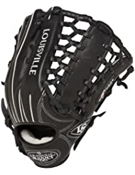 Louisville Slugger 13-Inch FG Pro Flare Baseball Outfielders Gloves, Black, Left Hand Throw by Louisville Slugger