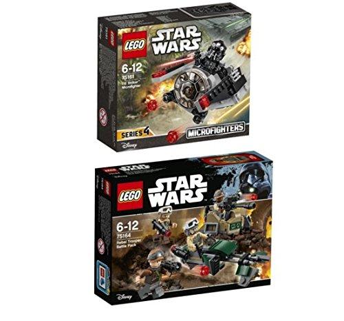 LEGO® Star Wars Set - 75164 - Rebel Trooper Battle Pack und 75161 TIE Striker Microfighter