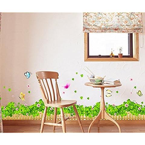 Garwarm Moda Moderno Creativo Rimovibile PVC Decorativo
