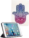 iPad Mini/iPad Mini 2/iPad Mini 3 Case UHIPPO® Hamsa Hand of Fatima Mary Ohm Sythetic Leather Flip Case with Multi-angle Stand Feature for Apple iPad Mini/iPad Mini 2/iPad Mini 3