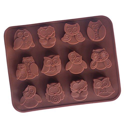 Alta a civetta-forma per cioccolato/stampo torta decorazione per caramelle//Ghiaccio Form/Pane form/stampo in silicone-anche per dessert