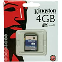 Kingston SDHC 4GB SD Card 2.0 Scheda di memoria Class 4
