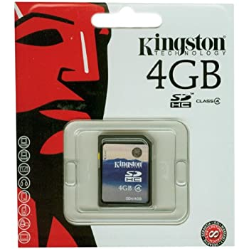 Kingston Speicherkarte SD4/4GB SDHC Klasse 4-4GB