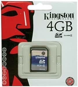 Kingston Carte SD Standard SD4/4GB SDHC Classe 4 - 4Go
