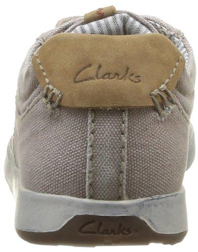 Clarks Norwin Vibe Herren Sneakers Gelb (Sand Textile)