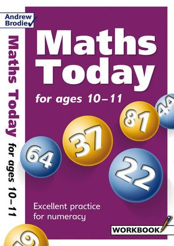 Portada del libro By Andrew Brodie - Maths Today for Ages 10-11 (Maths Today)