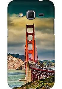 AMEZ designer printed 3d premium high quality back case cover for Samsung Galaxy Core Prime (scenary )