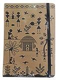 #1: Matrikas Warli Invictus_EAN_IJAGAEJGDDAJJ Journal Ruled Notebook, 224 Pages