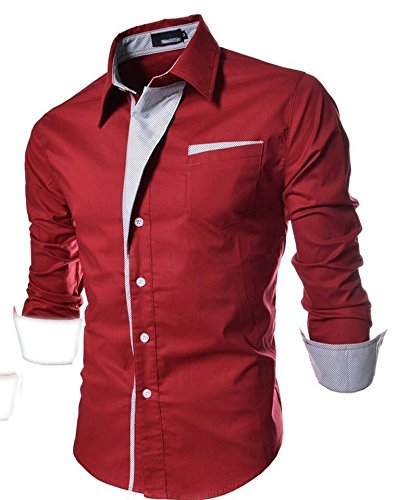 Pearl-Ocean-Mens-Cotton-Crush-Shirt-red-party-wear-shirt-MRedMedium