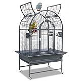 Montana Cages Manhattan Papageienkäfig - in der Farbe Antik, Käfig, Voliere für Papageien