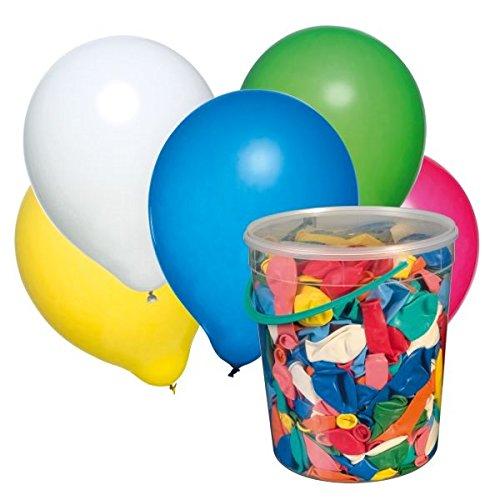 00 Luftballons, farbig Sortiert im Eimer ()