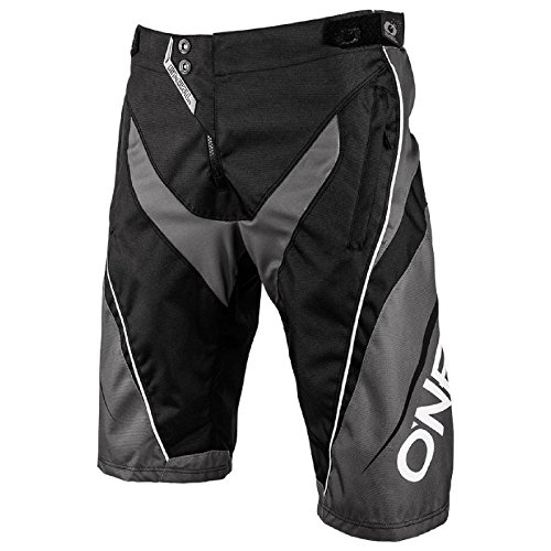 O'Neal Element FR Jugend Shorts Blocker MTB Hose Fahrrad Mountain Bike Sport DH Downhill Kinder, 0192KS-4, Farbe Schwarz, Größe 24