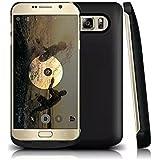 Vanda® 4200mAh Power Bank Externe Rechargeable Housse Secours batterie Coque Etuis chargeur Pour Samsung Galaxy Note 5 N9200 Noir