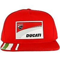 Ducati Corse Moto GP Racing Flat Peak Gorra Rojo Oficial 2018