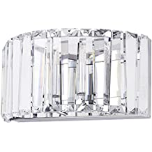 Marquis by Waterford - Foyle LED Bathroom Wall Light Chrome IP44 Rated With Free LED Bulbs (Renewed)