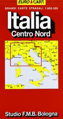 Italia. Centro nord 1:800.000 (Euro Cart)