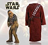 Star Wars Chewbacca Bademantel Bad Kostüm Plüsch Flauschiger Mantel L - XL