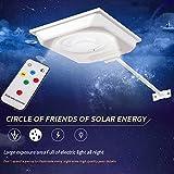 Solar-LED-Lampe, Wandleuchter, Stellplätze-, 400-, 450Lumen (für
