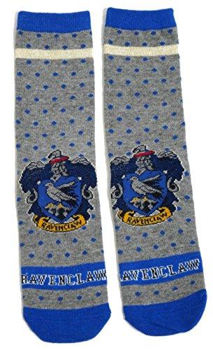 Harry Potter Ladies Ravenclaw School House Spotty Socks UK 4-8 USA 6-10