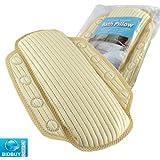 Almohada para Bañera de Espuma con Memoria. Reconfortante y Relajante Almohada para Bañera. Ideal para su Baño