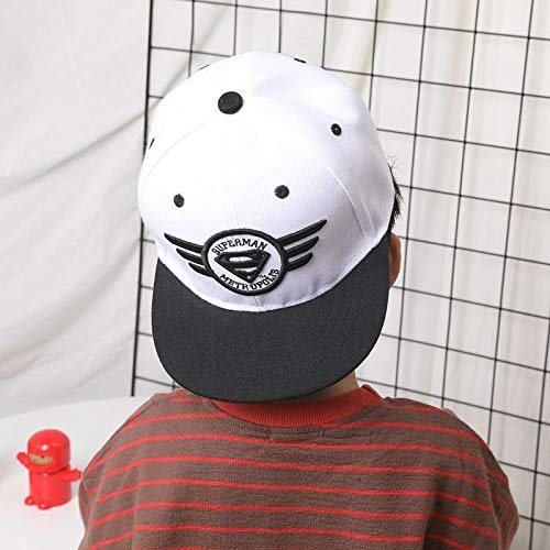 Hip-Hop-Hut für Kinder, männliche Jungen, Baseballmütze, Baby, Entenzunge, Sonnenschutzkappe Abbildung 9 2-9 Jahre alt (Männliche Bauarbeiter Kostüm)