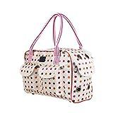 WINOMO Draussen Haustier Tragetasche Schulter Travel Tragen Handtasche für Hunde und Katzen - Größe L (rosa)