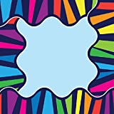 Sona Edons Decorative Borders for Bulletin Board, Black Board, Windows Multicolour-Colourful Pattern -5 Border(Set of 6)