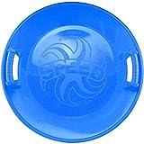 COM-FOUR 1x Super Pistenrutscher mit breitem Rand und Griffmulden für mehr Sicherheit in blau...