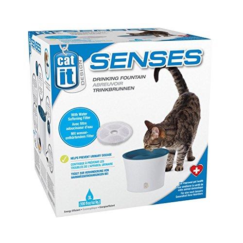 """Catit 50761 Senses Trinkbrunnen """"Fresh & Clear"""" 3 L für Katzen mit Softfilter - 3"""
