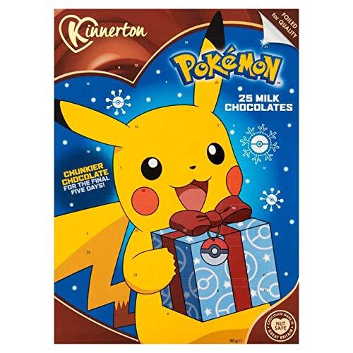 Calendrier de l'avent Pokemon - Chocolat au lait (2018)