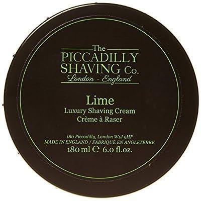 Piccadilly Shaving Co 180 g Lime Shaving Cream Bowl