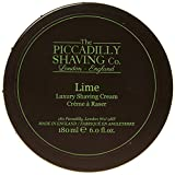 Piccadilly Shaving Co 180 g Lime Shaving Cream Bowl
