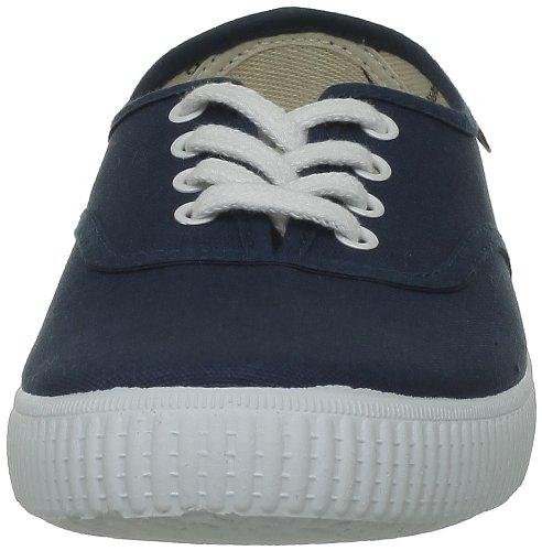 victoria Inglesa Lona Damen Sneaker Blau - Bleu (Petroleo )