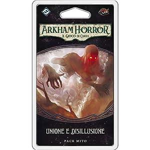 Asmodee Italia- Arkham Horror LCG Unión y Desillusión Living Card Game, Color, iAHC33
