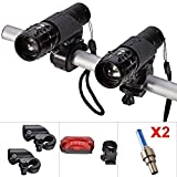 Best Bike Light Sets - E-Goal Bike Light Set Front and Back Review