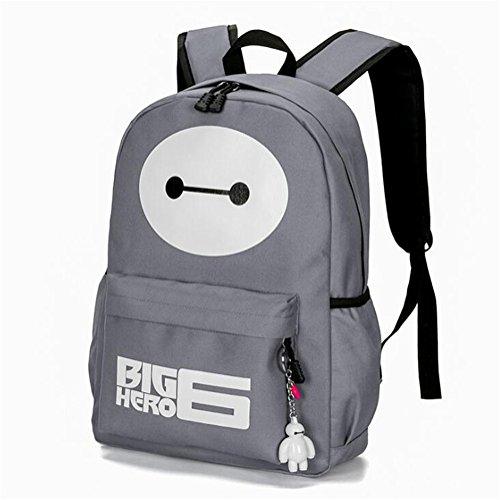 Wmshpeds Borsa a tracolla moda femminile tendenza cartoon coreano computer maschio zaino borsa da viaggio di alta scuola junior studente di scuola superiore in borsa B