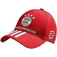 """adidas Cap Deutscher Meister 2018 FC Bayern MÜNCHEN + gratis Sticker """"München forever"""", Mütze, Hut, Basecap, FCB"""