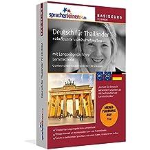 Sprachenlernen24.de Deutsch für Thailänder Basis PC CD-ROM: Lernsoftware auf CD-ROM für Windows/Linux/Mac OS X