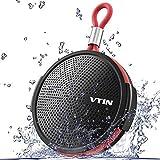 VICTSING Bluetooth Shower Speaker, Waterproof Wireless and Portable Bluetooth 4.2 Stereo Speaker Built-in