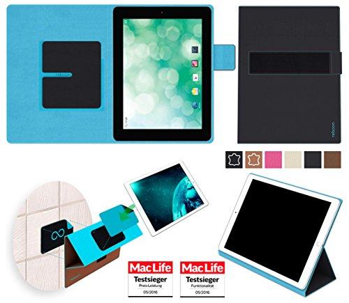 reboon Hülle für Blaupunkt Endeavour 1010 Tasche Cover Case Bumper | in Schwarz | Testsieger