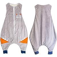 Sacos de Dormir para Bebé, Peso de Verano, Lavable a Máquina, 1.0 Tog, 1-6 Años