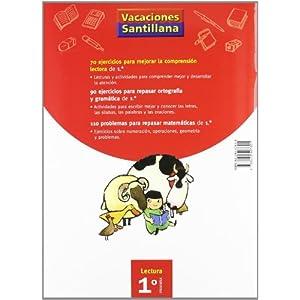 Vacaciónes Santillana, lectura, comprensión lectora, 1 Educación PriMaría. C