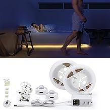 Autai LED Bettlicht Mit Bewegungsmelder   Bett Lichtleiste Nachtlicht  Streifen   Bewegungssensor Licht Strip   Baby