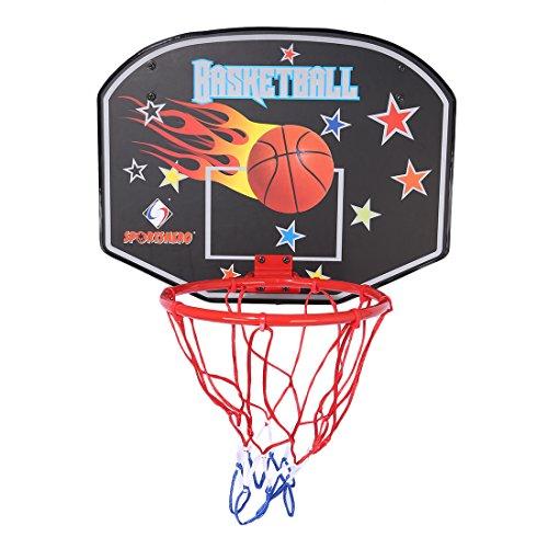 LoKauf Indoor Basketballkorb Backboard Hoop für Büro Zimmer Tür - Muster Zufällig