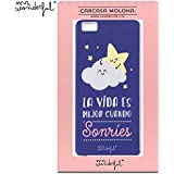 Funda Carcasa para Huawei P8 Lite Licencia Mr Wonderful Estrella