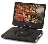 Reflexion DVD9003N Portabler DVD-Player, 22,86 cm (9 Zoll) schwarz