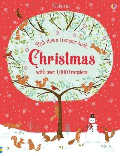 Christmas (Rub-Down Transfer Books) por Felicity Brooks