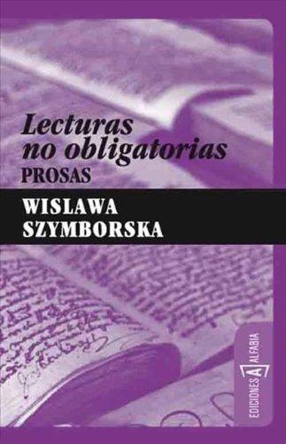 Lecturas No Obligatorias: Prosas